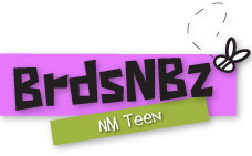 Birds and bees logo for teens.