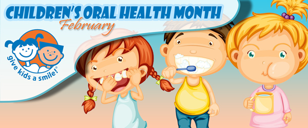 Children's Oral Health Month Image