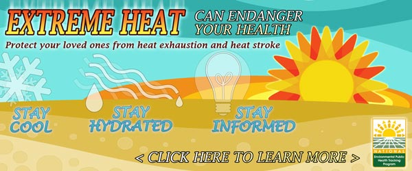 Heat Exhaustion Awareness Image