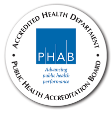 Logo graphic for the public health accreditation board.