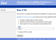 Functional Accessibility Evaluator