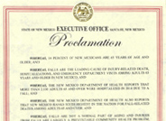 Fall Prevention Awareness Day Proclamation