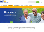 Staying healthy as you age can be a challenge. We can help. Our programs give older adults the knowledge and tools to prevent falls, manage chronic conditions, and improve their lives.