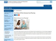 Give Peace of Mind Through Advance Care Planning