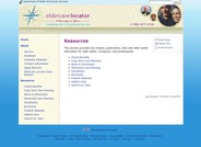 Eldercare Locator Resources