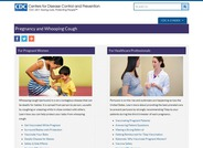 CDC Pregnancy and Whooping Cough
