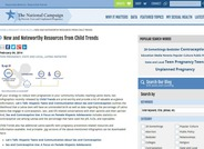 New and Noteworthy Resources from Child Trends