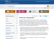 HIPAA Privacy for Professionals