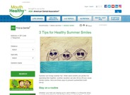 3 Tips for Healthy Summer Smiles