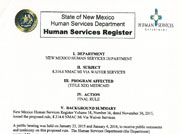 Human Services Register Vol. 39 No. 02