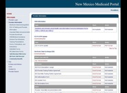 New Mexico Medicaid Provider Portal: Self-Directed Forms