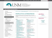 FIT Child Record Forms and Related Materials