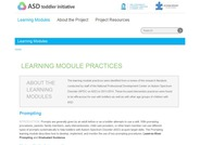 Autism Learning Module Practices