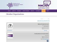 Domestic Violence Member Organizations