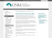 Autism Spectrum Evaluation Clinic