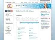 New Mexico Behavioral Health Services Search