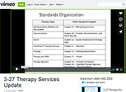 DDW Training: Therapist Update Webinar