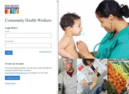 This is the new online application system for Community Health Worker Certification.