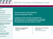 Association of Occupational and Environmental Clinics