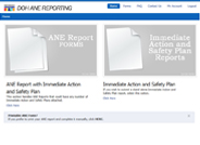 Community Program ANE Reporting System