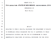 Senate Bill 75 - Emergency Medications