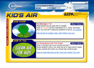Offers helpful ways for kids to learn about air quality and clean air.