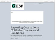 Occupational Health in New Mexico (Fall 2013)