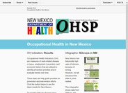 Occupational Health in New Mexico (Summer 2014)