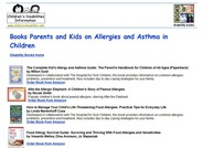 Asthma & Allergy Books