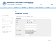 Directory of travel clinics that will administer vaccinations or dispense prophylactic medications for travelers.