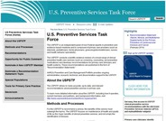 United States Preventive Services Task Force