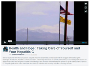 Health and Hope: Taking Care of Yourself & Your Hepatitis C
