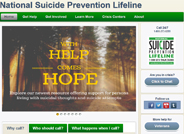 The National Suicide Prevention Lifeline is a 24-hour, toll-free, confidential suicide prevention hotline available to anyone in suicidal crisis or emotional distress.