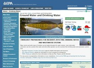 Ground Water and Drinking Water Information