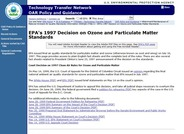 Ozone and Particulate Matter Standards