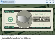 Counting it Up: The Public Costs of Teen Childbearing