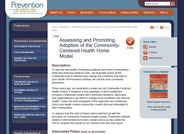 Assessing and Promoting Adoption of the Community-Centered Health Home Model