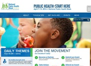 During the first full week of April each year, the American Public Health Association (APHA) brings together communities across the United States to observe National Public Health Week as a time to recognize the contributions of public health and highlight issues that are important to improving our nation.