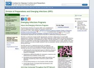 Emerging Infections Programs