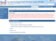 This query module is a part of the Indicator-Based Information System and provides the ability to query incidents, deaths, length of stays, and number of intensive care unit days.
