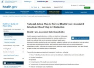 National Action Plan to Prevent Healthcare-Associated Infections: Road Map to Elimination