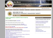 New Mexico Department of Homeland Security and Emergency Management Training