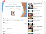 Family Planning Fee Collection Training Webinar