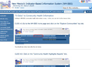 Community Health Information in 5 Clicks